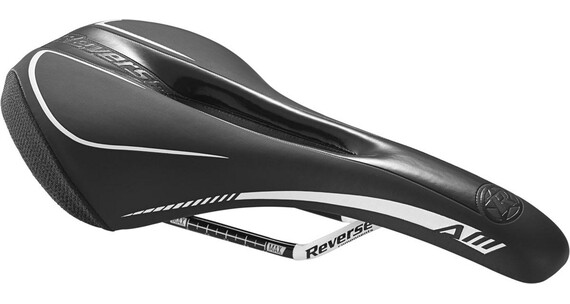 Reverse AM-Ergo Saddle black/white